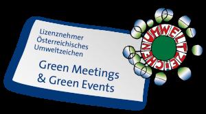 Lizenznehmer für das Umweltzeichen für Green Meetings und Events